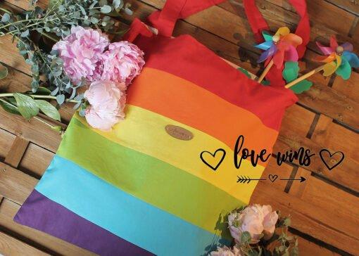 love wins bevásárlótáska